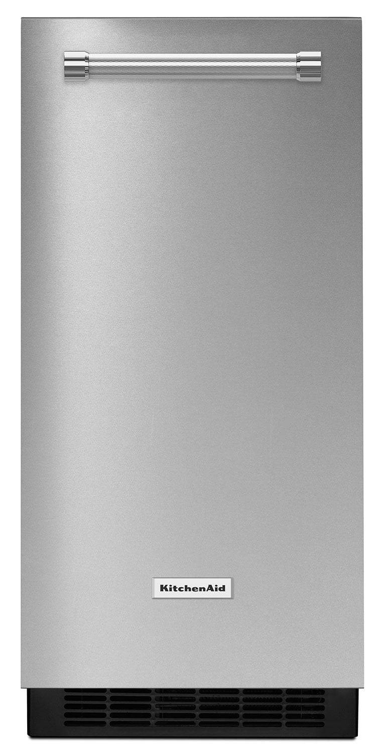 Refrigerators and Freezers - KitchenAid Stainless Steel Ice Maker - KUIX305ESS