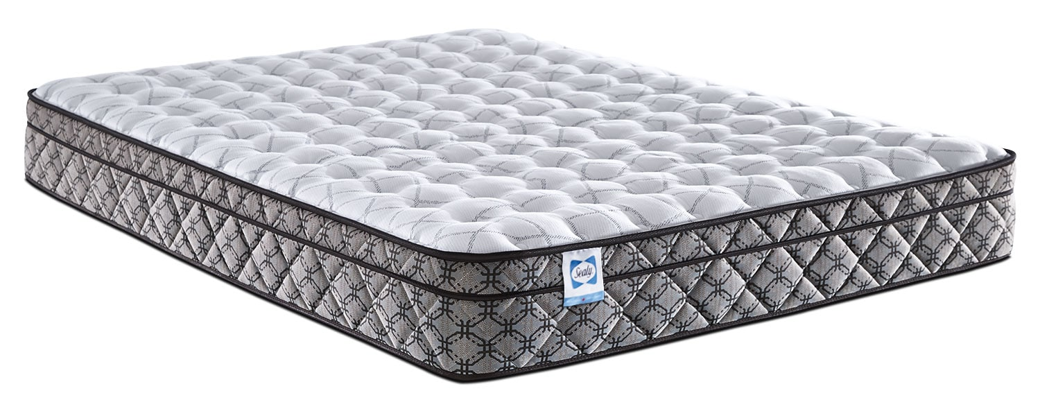 Mattresses and Bedding - Sealy Bellcroft Euro-Top Firm Queen Mattress