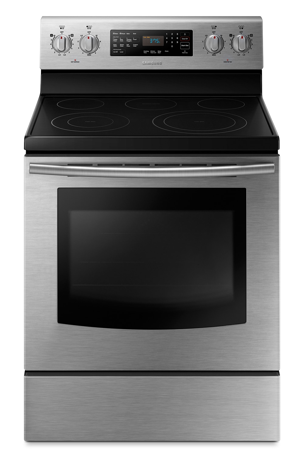 Cooking Products - Samsung Stainless Steel Freestanding Range (5.9 Cu. Ft.) - NE59J3421SS/AC