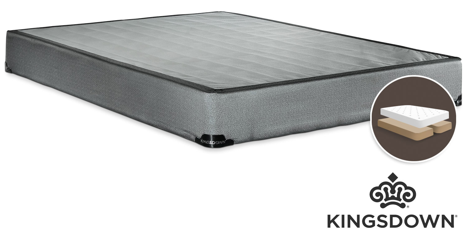 Mattresses and Bedding - Kingsdown Assist Queen Split Boxspring