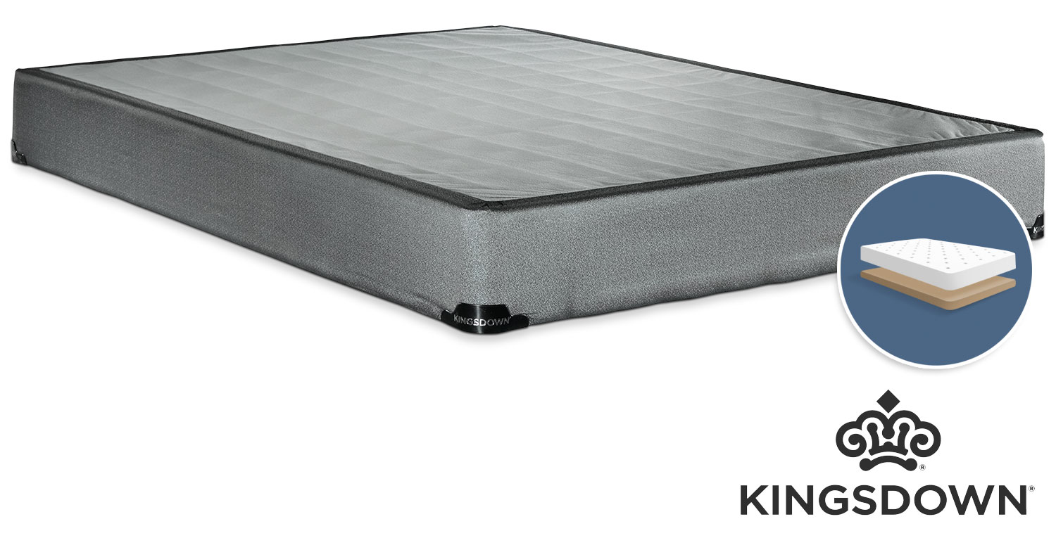 Mattresses and Bedding - Kingsdown Assist Full Low-Profile Boxspring