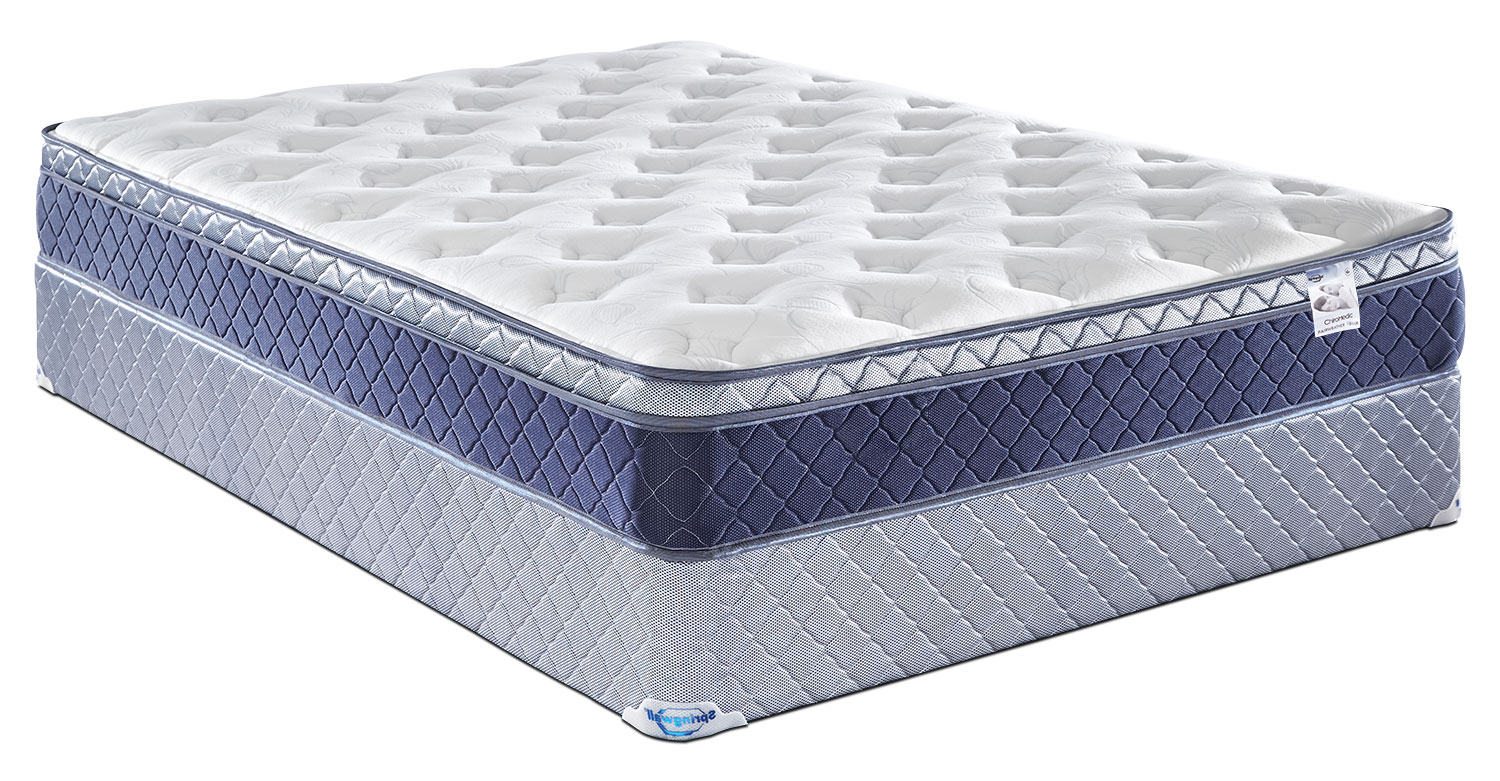 Mattresses and Bedding - Springwall Fairweather Euro-Top Plush Twin Mattress Set