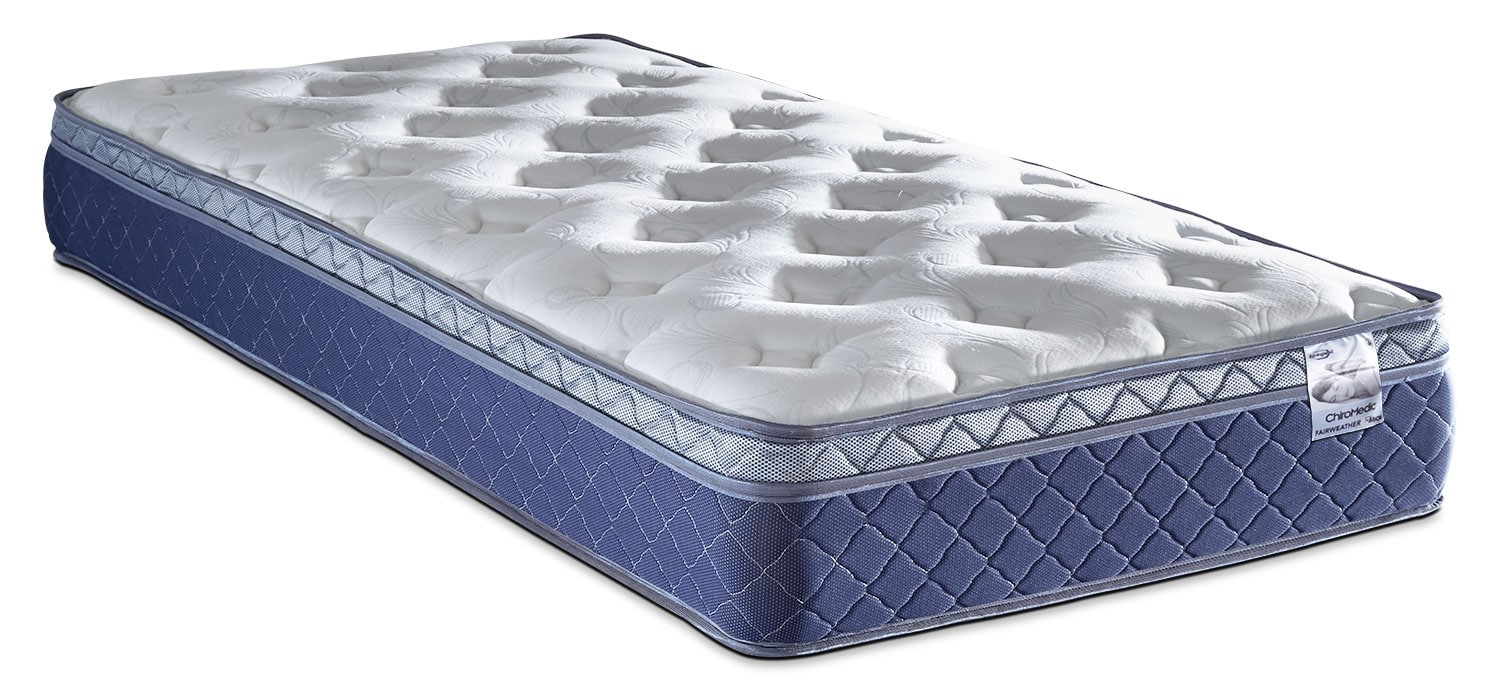 Springwall Fairweather Euro-Top Plush Twin Mattress