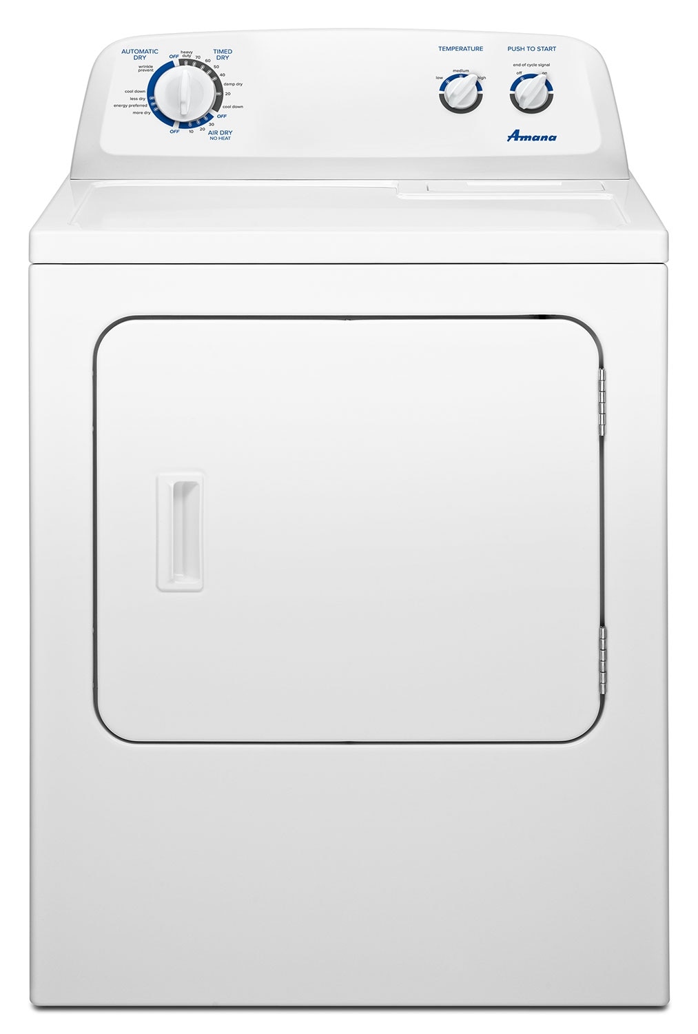 Amana White Dryer 7.0 Cu. Ft. - YNED4755EW