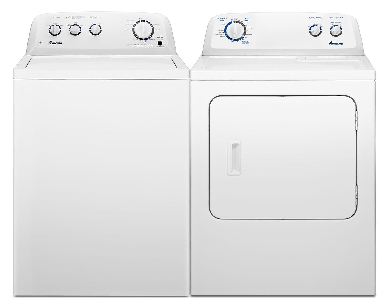 Amana Laundry - NTW4755EW/YNED4755EW