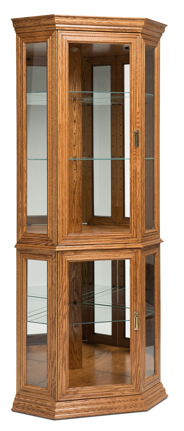 Texas Double Door Display Cabinet