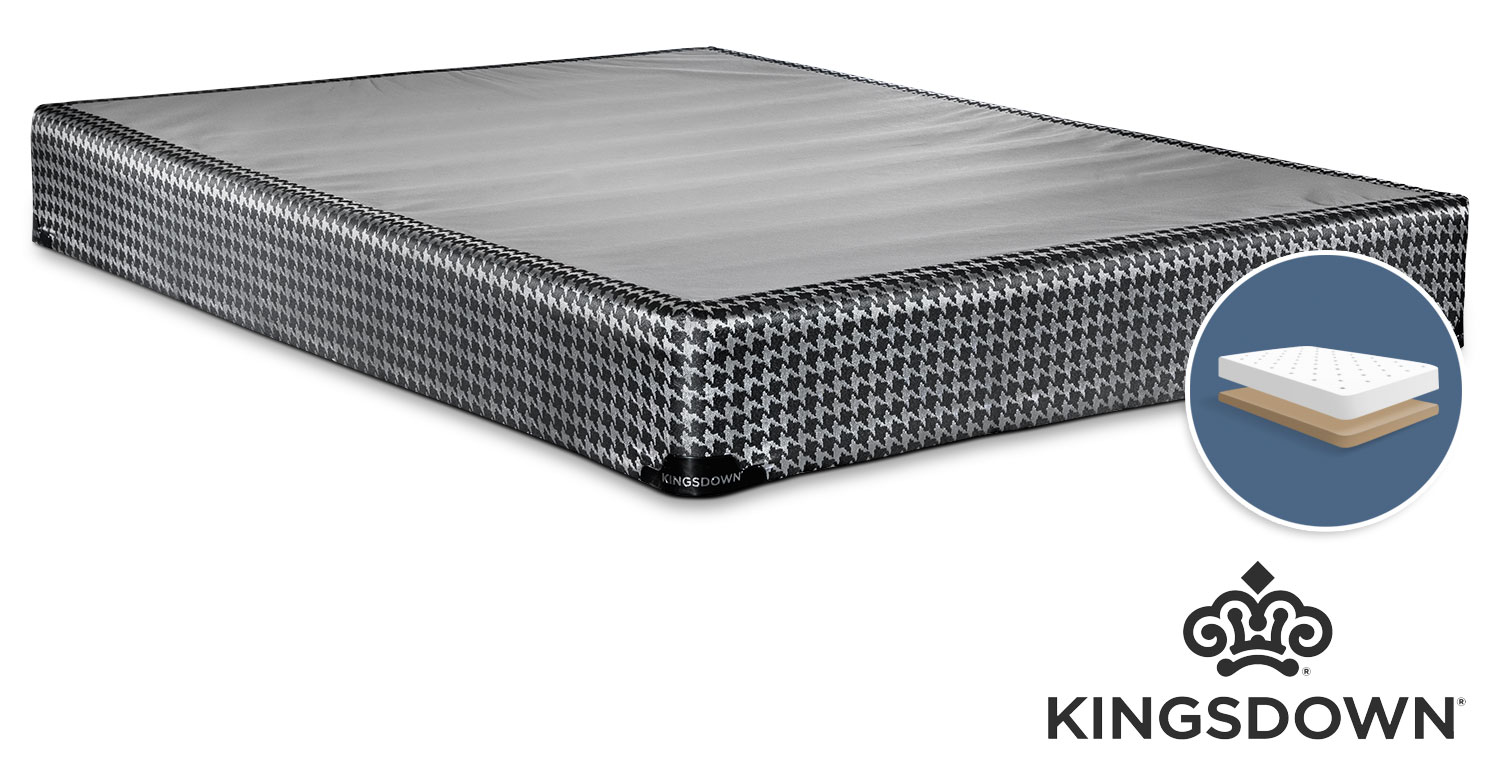 Mattresses and Bedding - Kingsdown Oxygen Full Low-Profile Boxspring