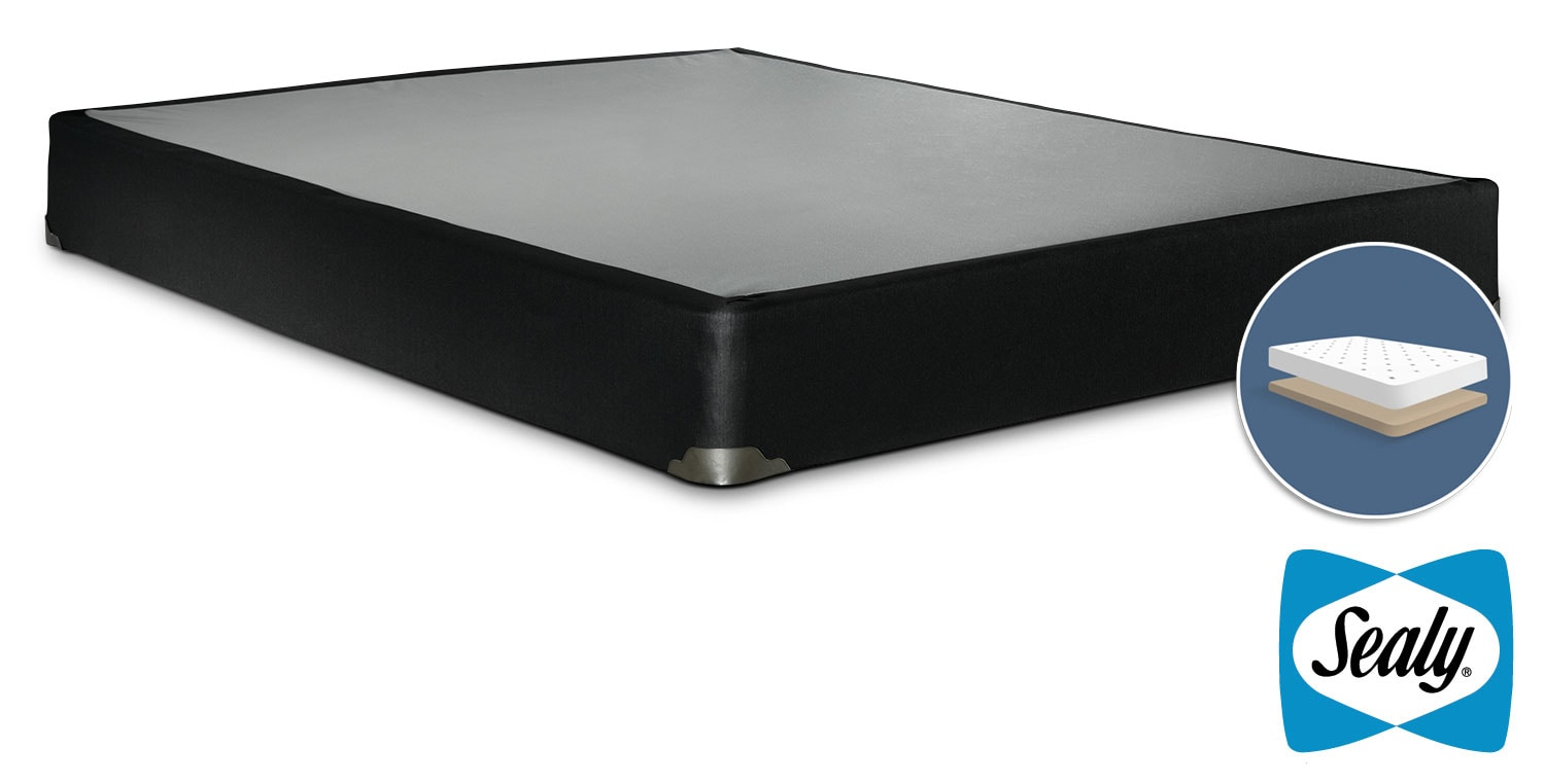 Sealy Luxury Noir Queen Low Profile Boxspring