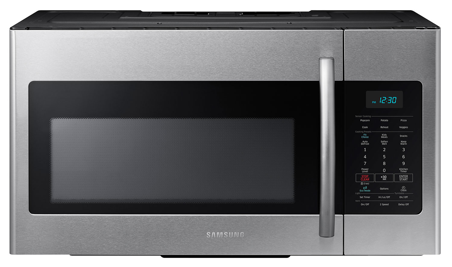 Samsung Stainless Steel Over-the-Range Microwave (1.7 Cu. Ft.) - ME17H703SHS