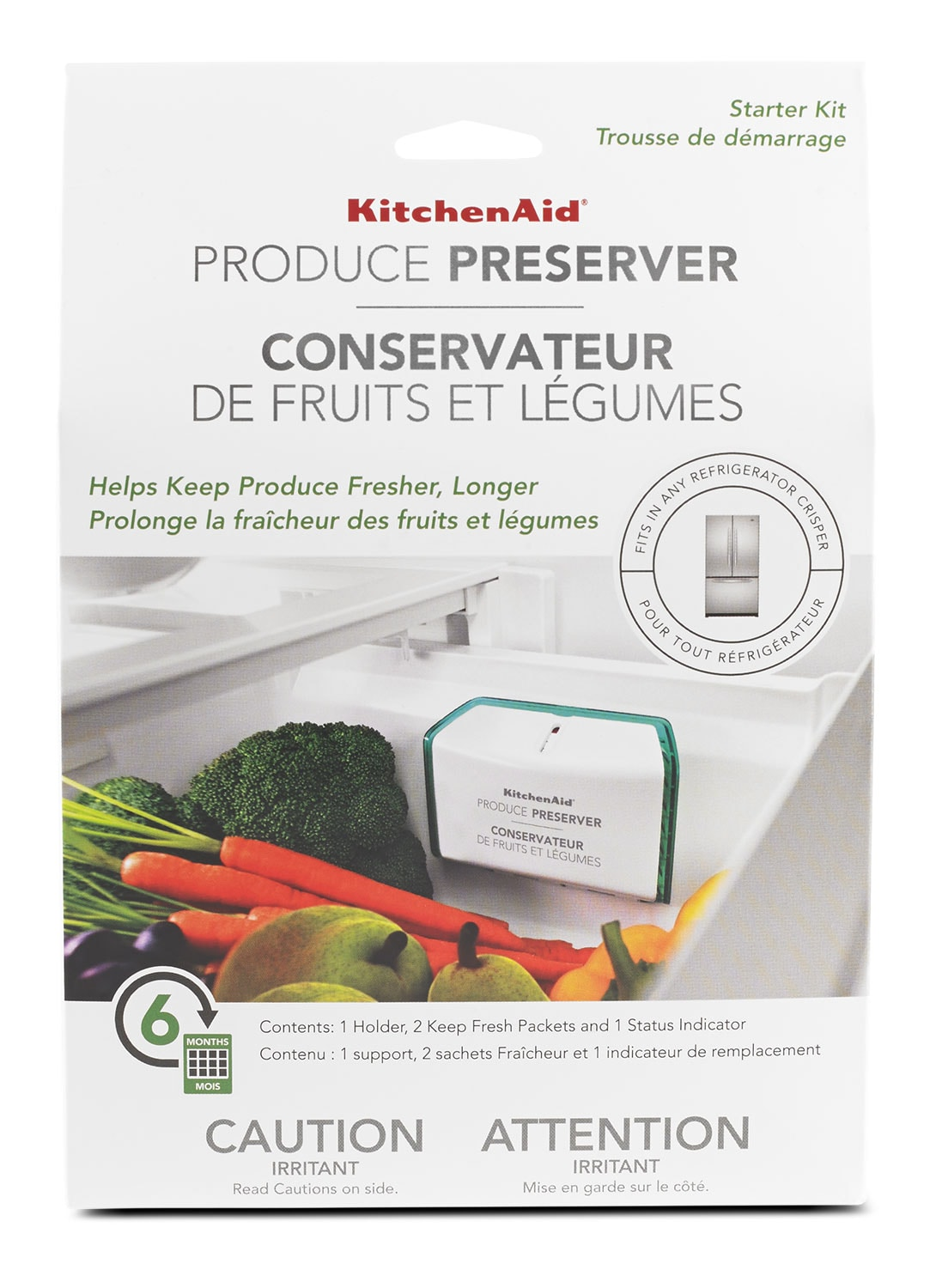 Appliance Accessories - KitchenAid Produce Preserver Starter Kit – P1KG6S1B