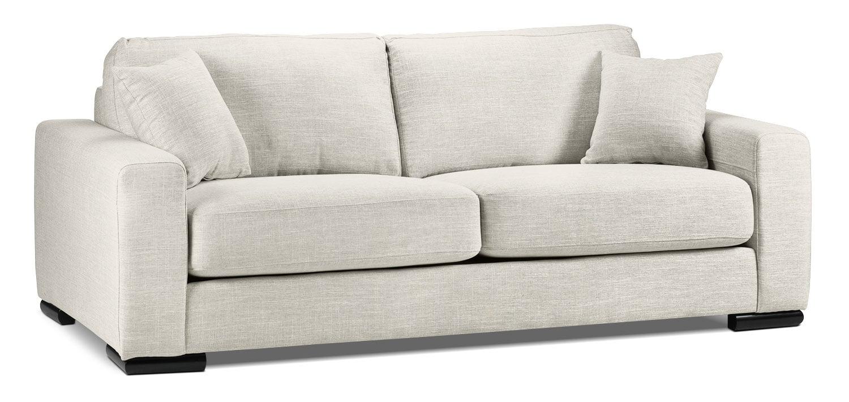 Living Room Furniture - Precious Sofa - Wheat