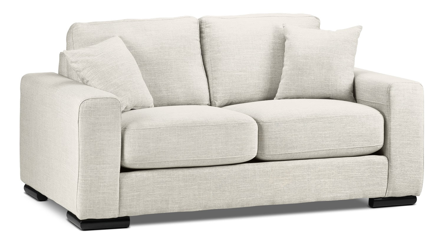 Living Room Furniture - Precious Loveseat - Wheat