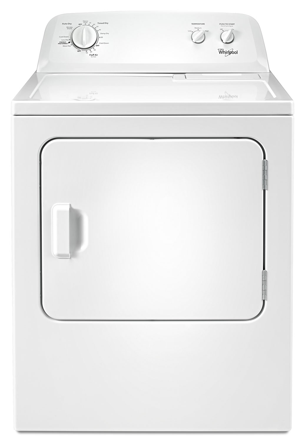 Washers and Dryers - Whirlpool 7.0 Cu. Ft. Gas Dryer – WGD4616FW