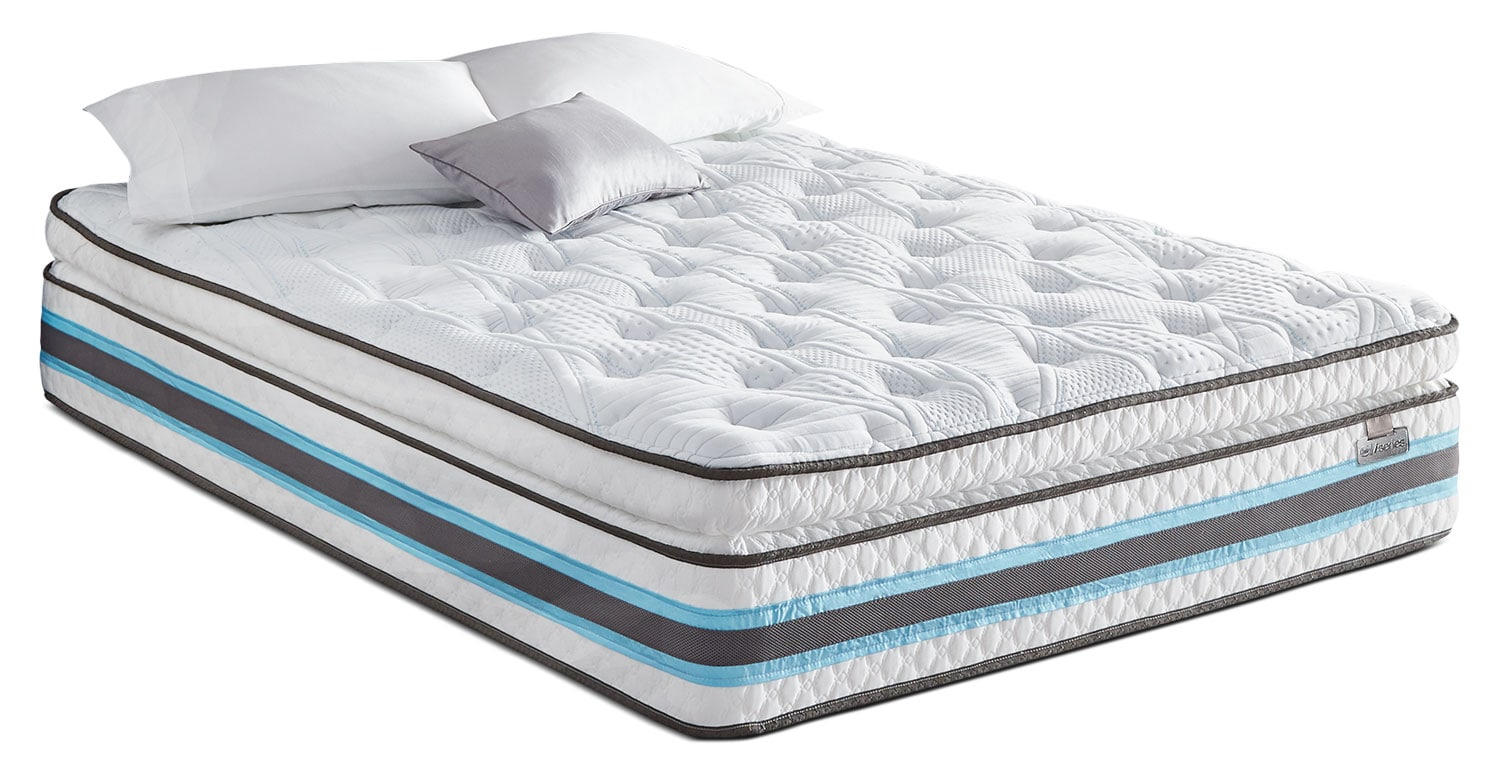 Mattresses and Bedding - Serta iSeries® Insatiable Plush Super Pillow-Top Full Mattress