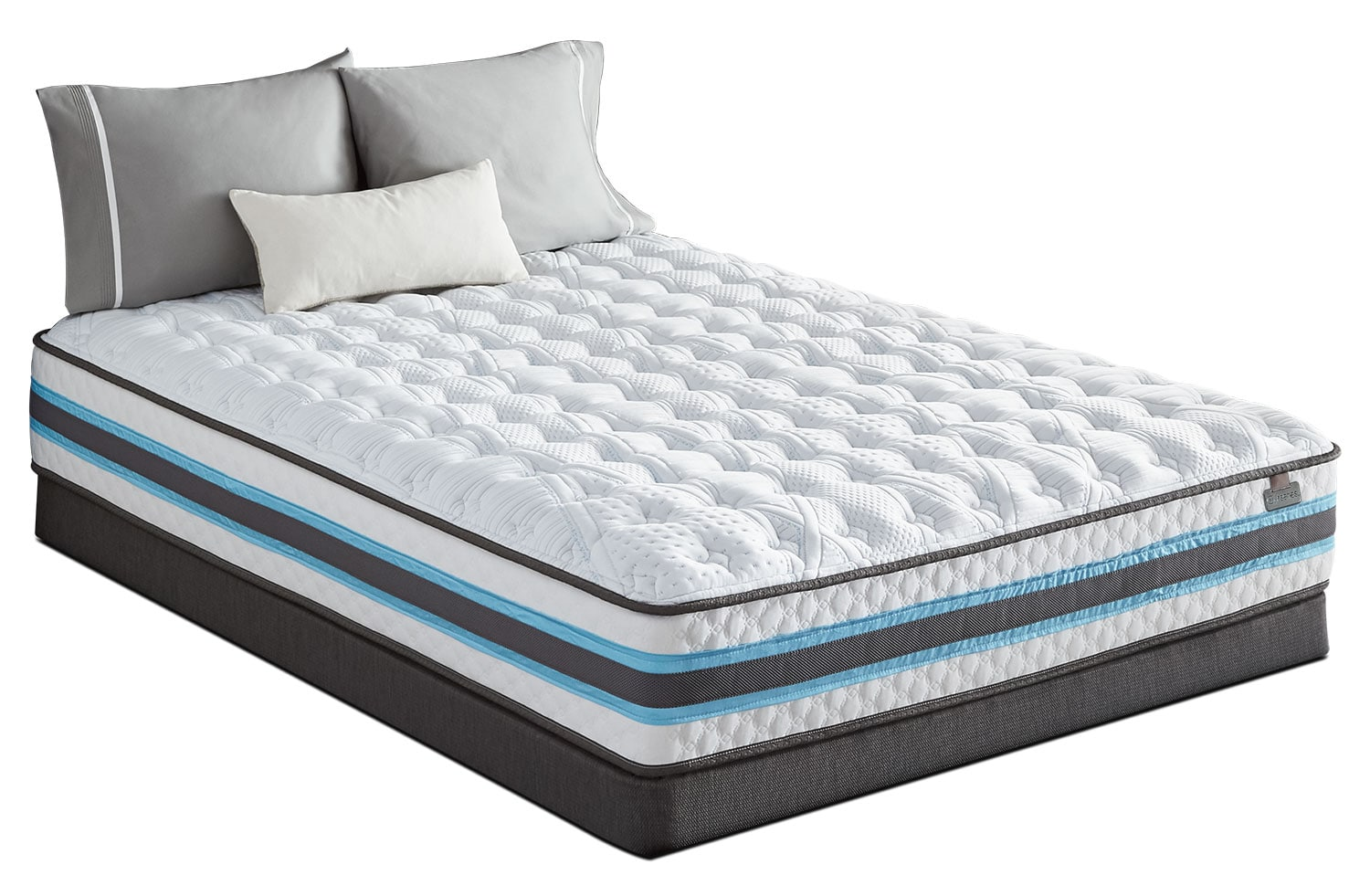 Mattresses and Bedding - Serta iSeries® Atmosphere Tight-Top Plush King Mattress Set