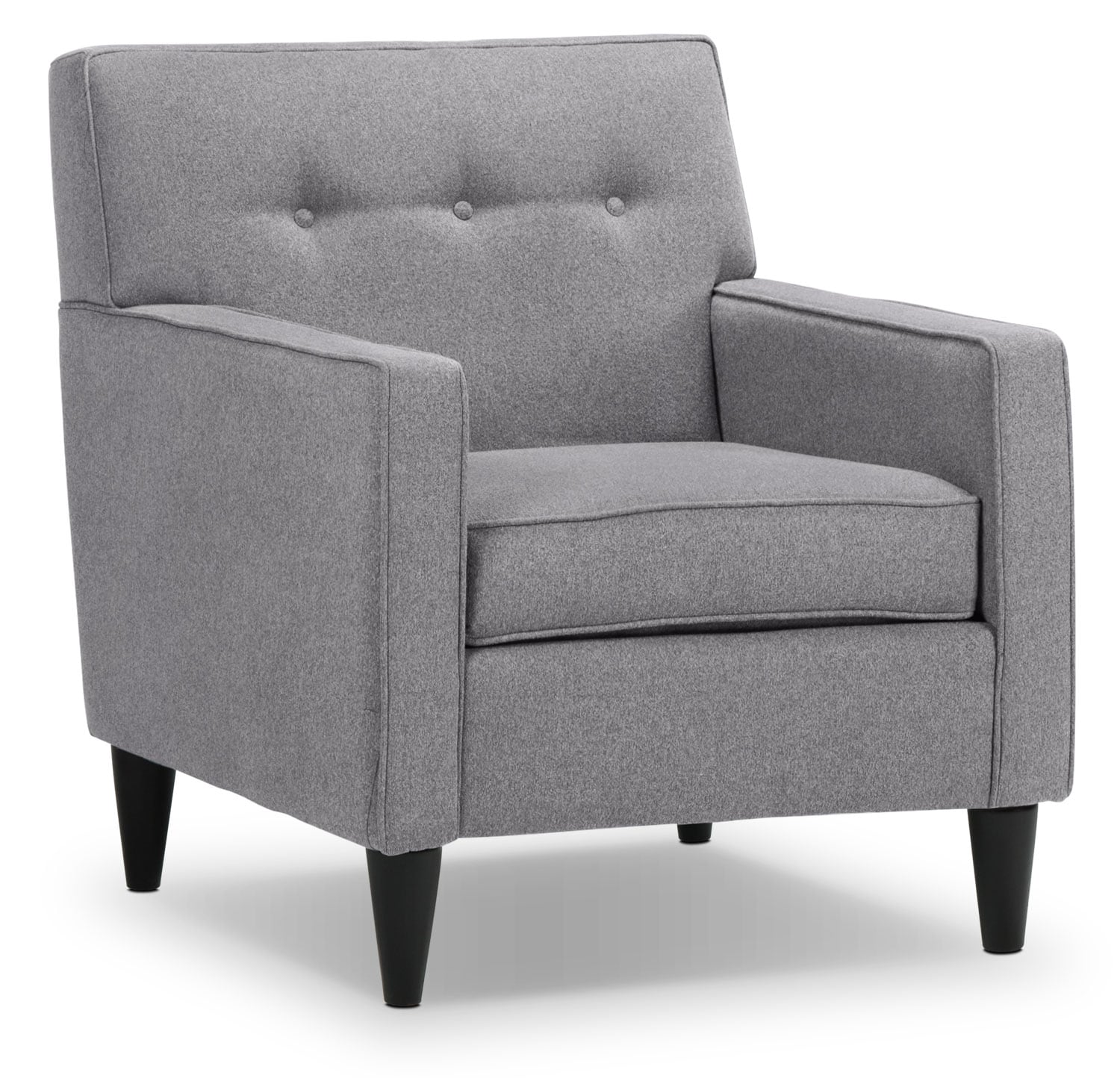 Living Room Furniture - Passerina Chair - Grey