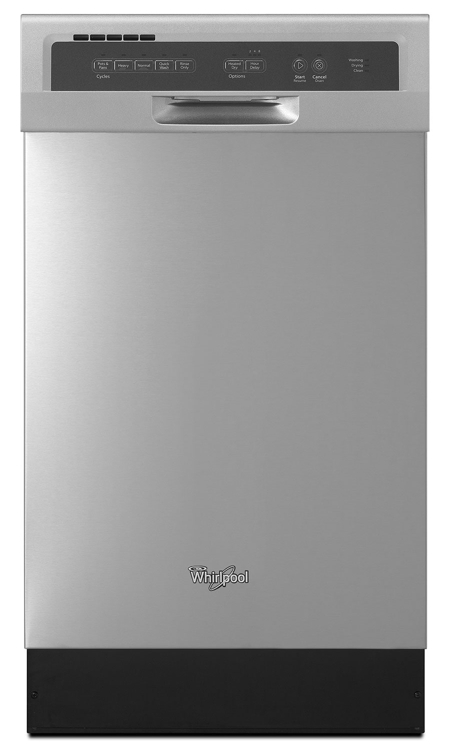 Clean-Up - Whirlpool Compact Tall-Tub Dishwasher – WDF518SAFM