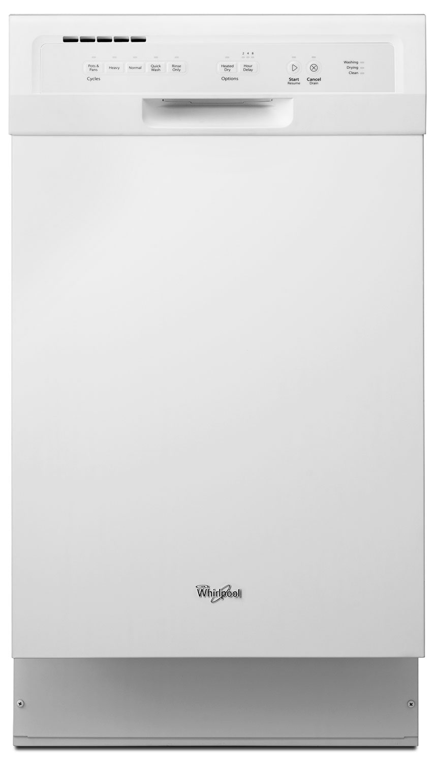 Clean-Up - Whirlpool Compact Tall-Tub Dishwasher – WDF518SAFW