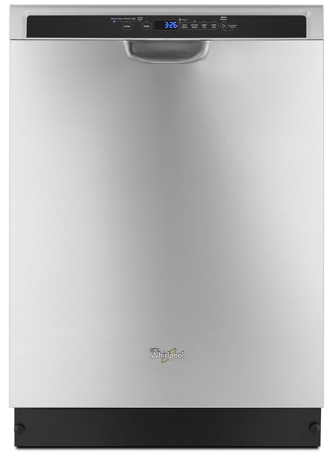 "Clean-Up - Whirlpool Stainless Steel 24"" Dishwasher - WDF560SAFM"