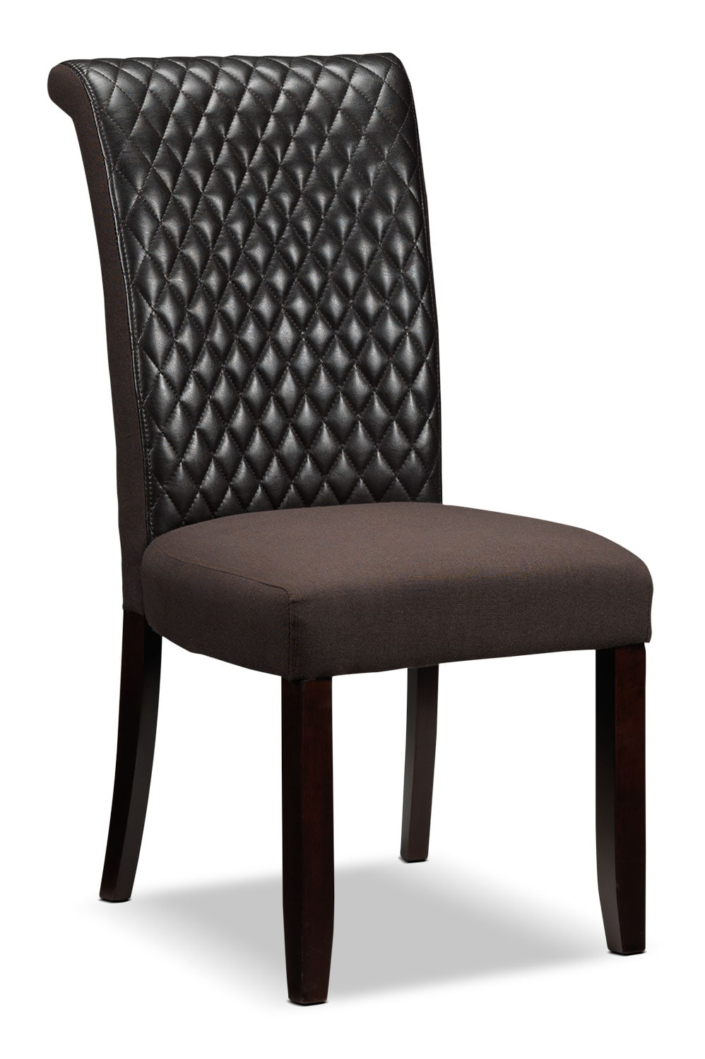 Dining Room Furniture - Flora Side Chair -  Brown