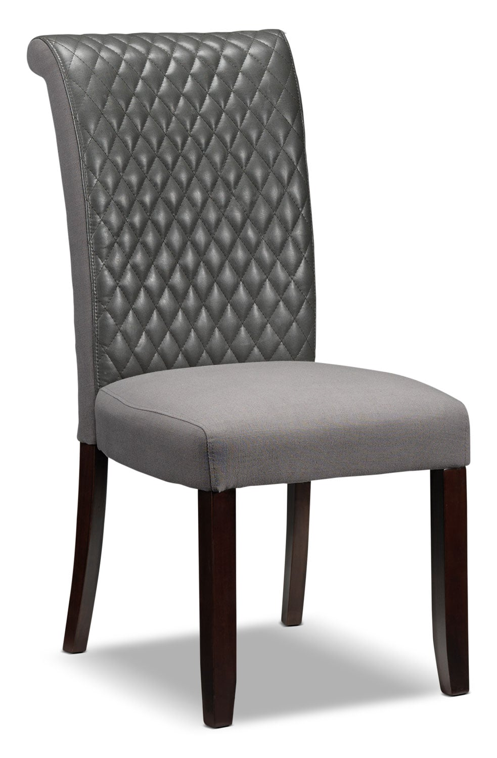 Dining Room Furniture - Flora Chair - Grey
