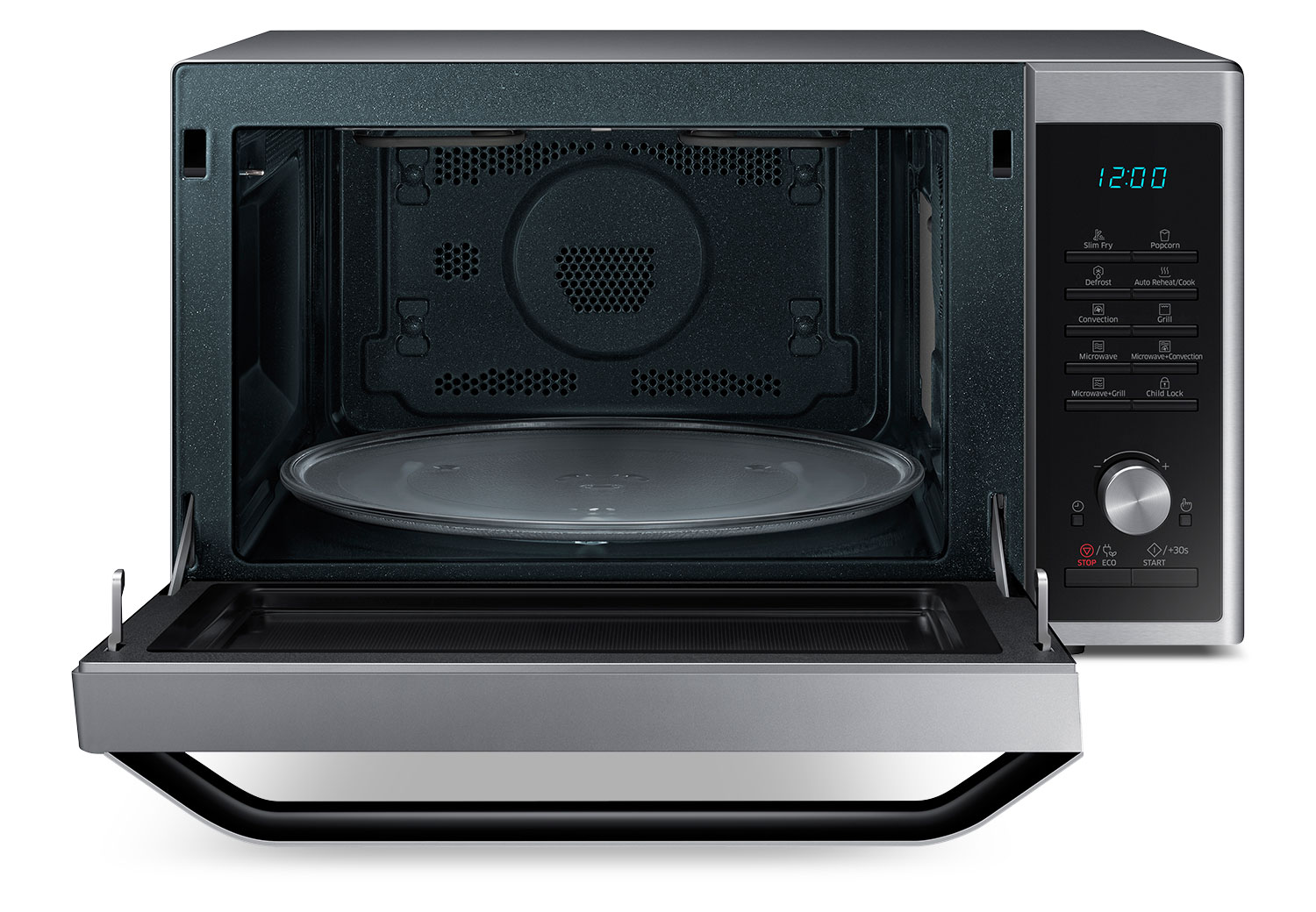 Samsung Stainless Steel Countertop Convection Microwave (1.1 Cu. Ft ...