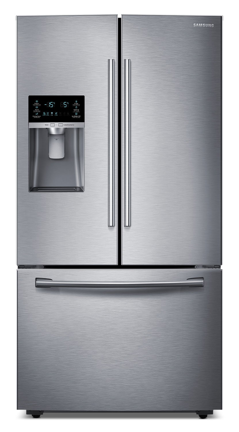 Samsung 28 Cu. Ft. French-Door Bottom-Freezer Refrigerator – Stainless Steel