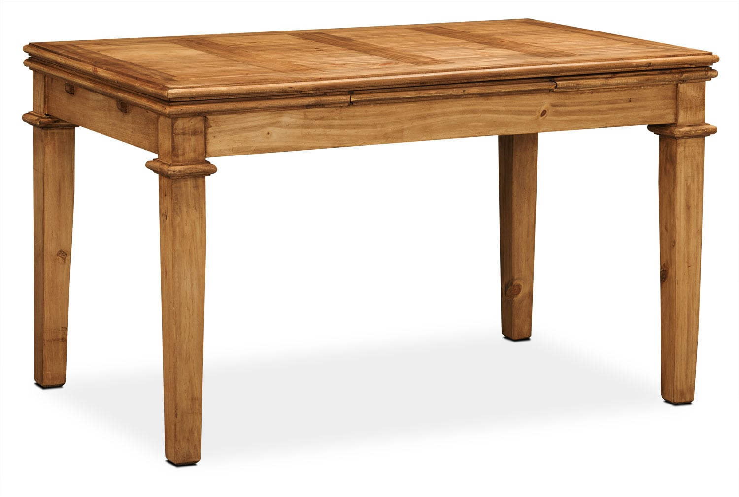 Santa fe rusticos solid pine dining table united for Pine dining room table