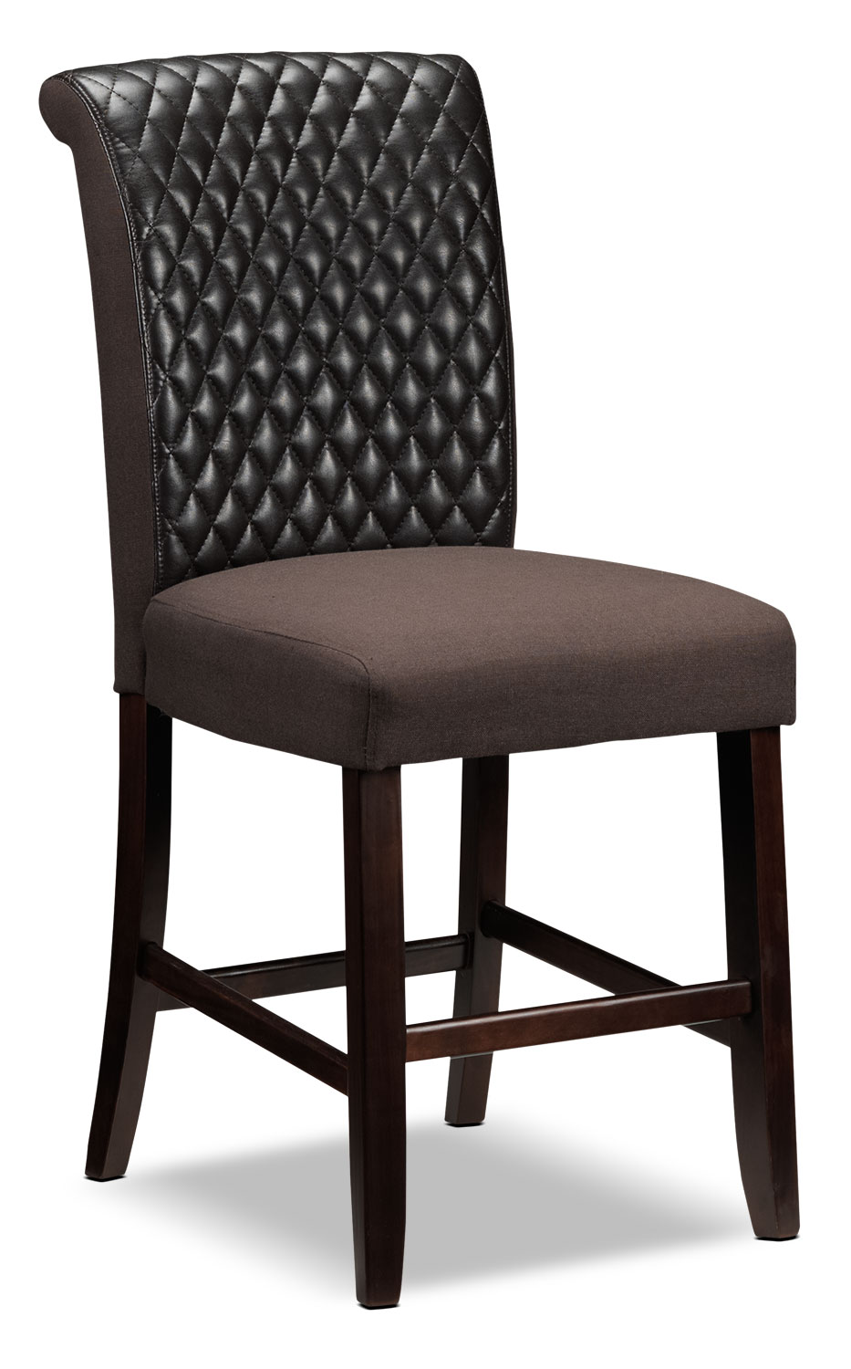 Flora Pub Chair - Brown