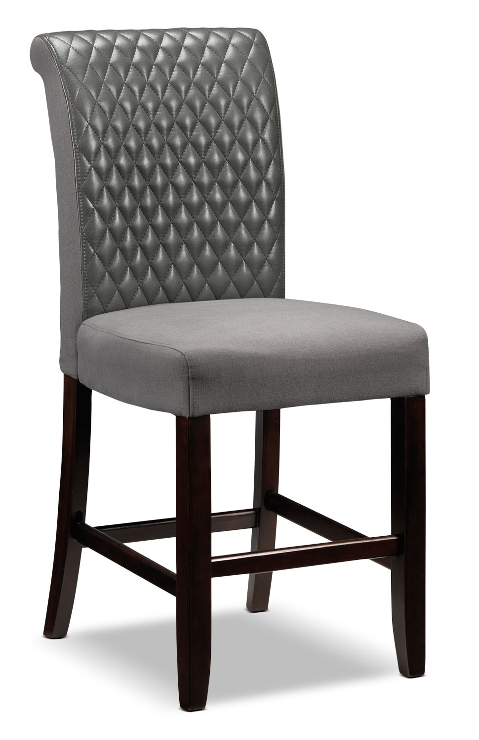 Casual Dining Room Furniture - Flora Pub Chair - Grey