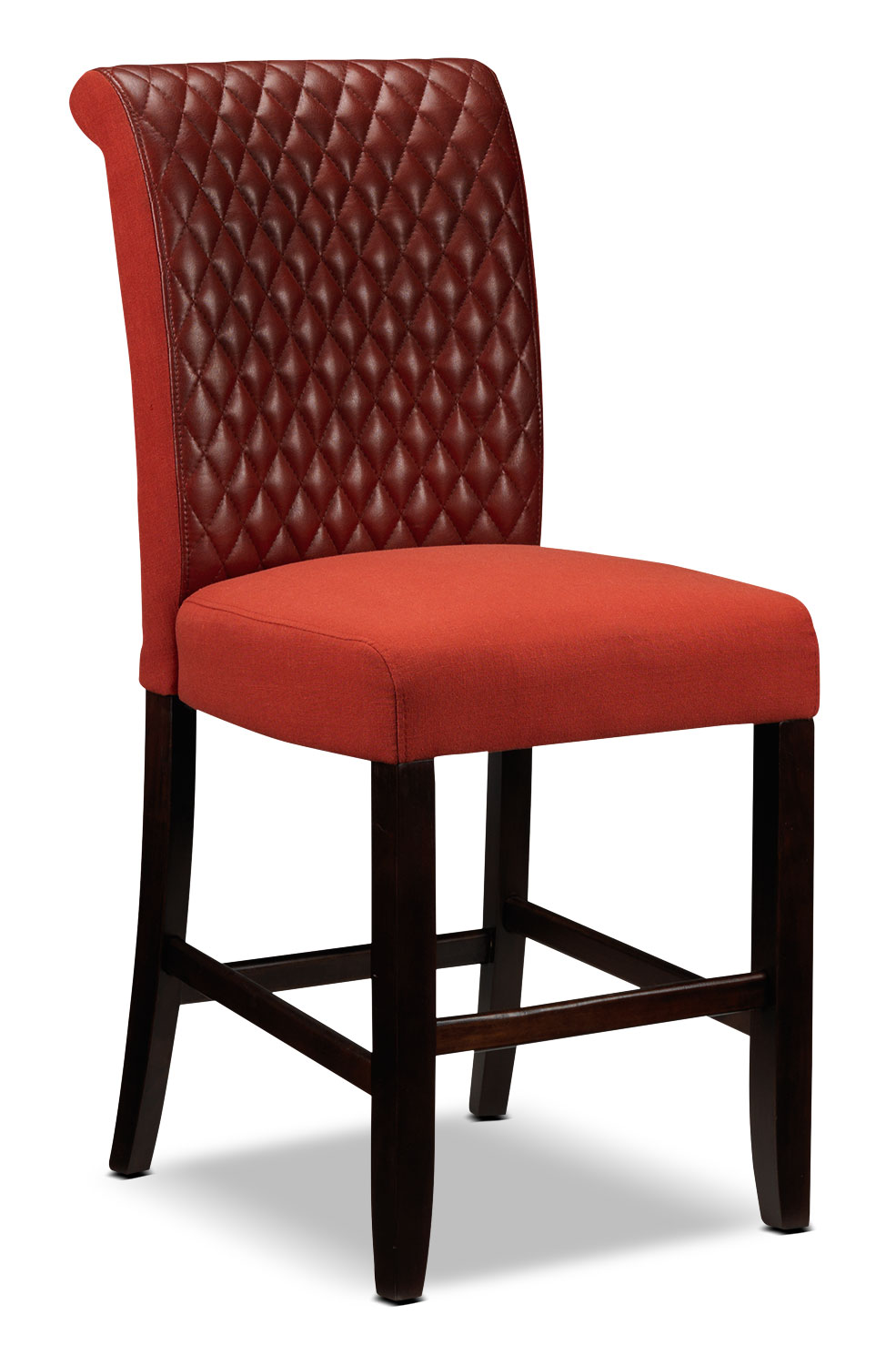 Flora Pub Chair - Red
