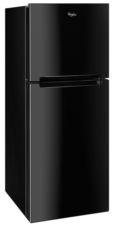 Whirlpool Black Top Freezer Refrigerator 10 7 Cu Ft