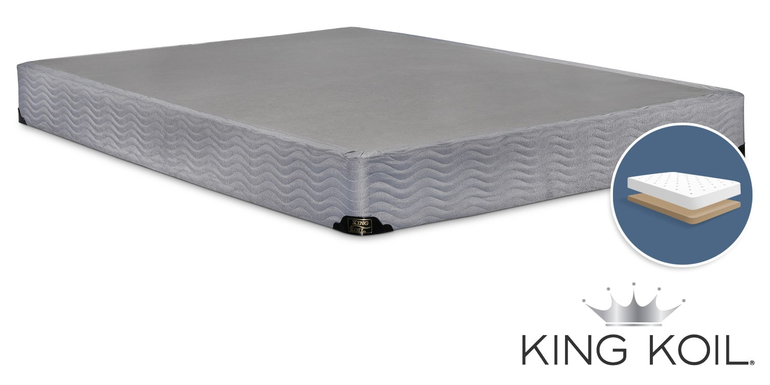 King Koil Basis King Low-Profile Split Boxspring