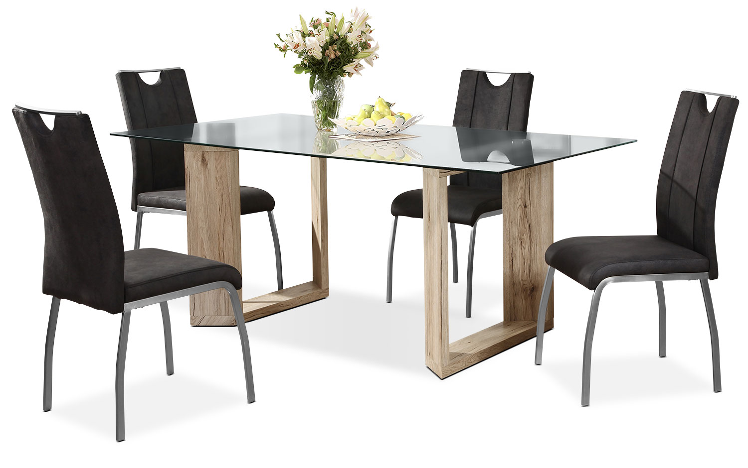 Dining Room Furniture - Aiden 5-Piece Dining Package
