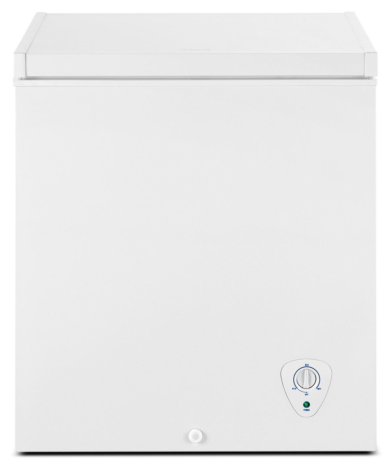 Refrigerators and Freezers - Frigidaire White Chest Freezer (5.0 Cu. Ft.) - FFFC05M1QW