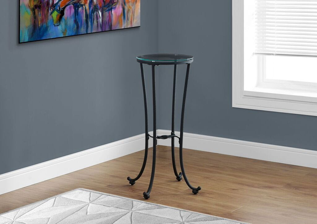 Online Only - Olivia Accent Table - Black