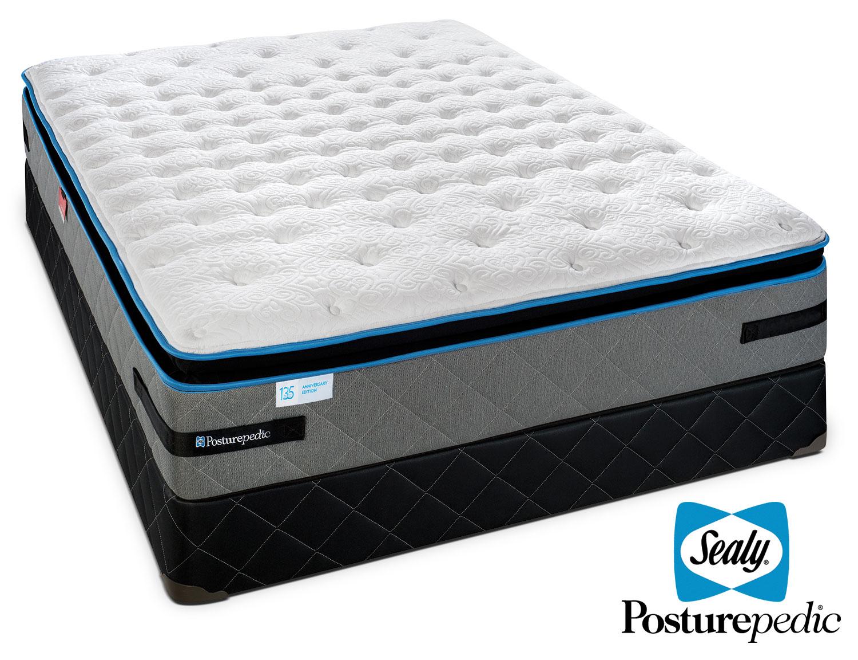 Sealy Posturepedic Beaucoup Plush Queen Mattress/Boxspring Set
