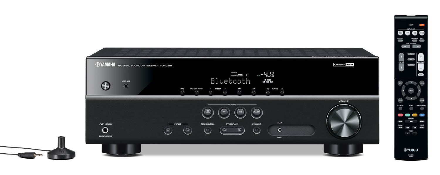 Yamaha RX-V381 5.1-Channel AV Receiver
