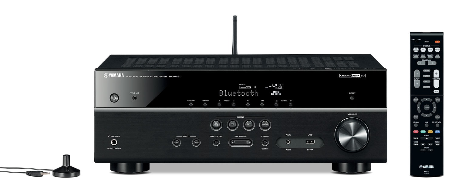 Yamaha RX-V481 5.1-Channel AV Receiver