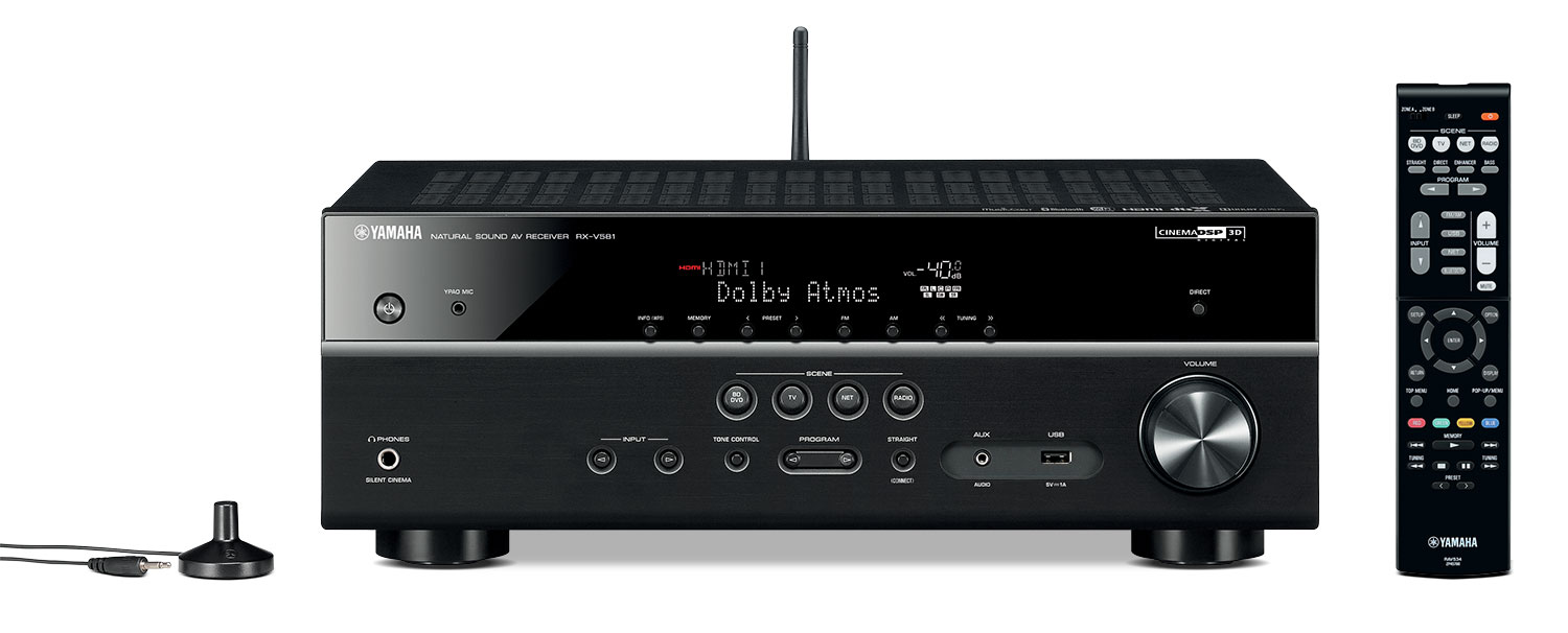 Yamaha RX-V581 7.2-Channel AV Receiver