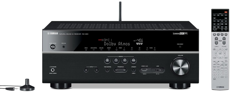 Sound Systems - Yamaha RX-V681 7.2-Channel AV Receiver