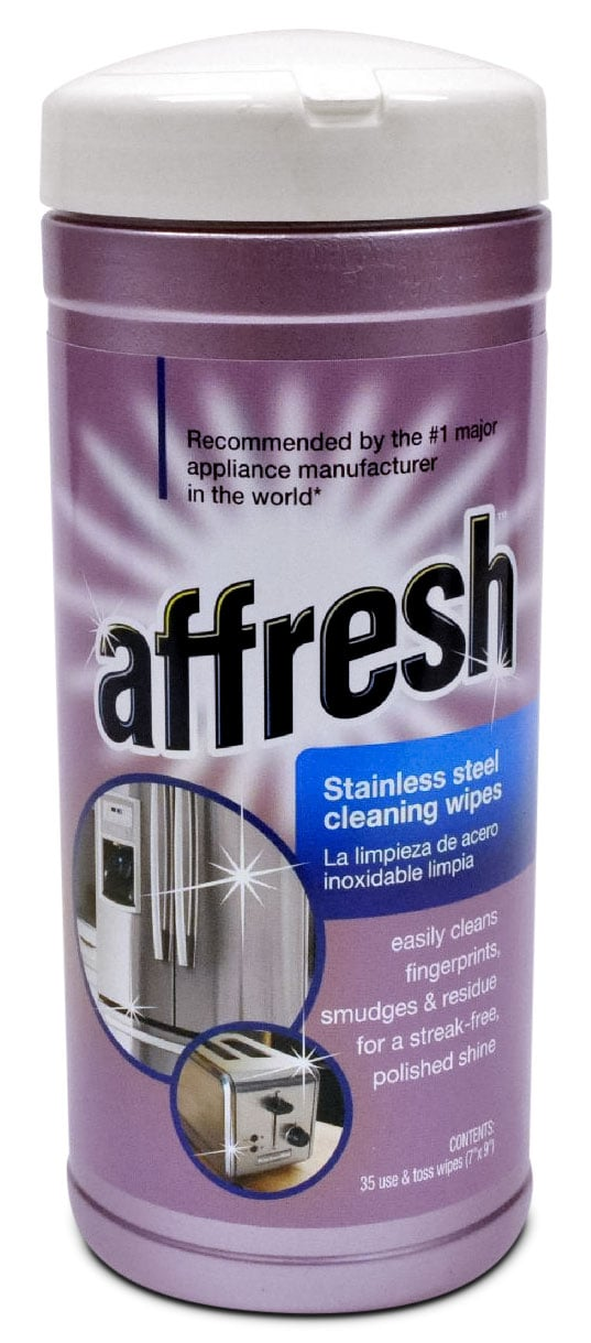 Cooking Products - Affresh Stainless Steel Wipes - W10355049B