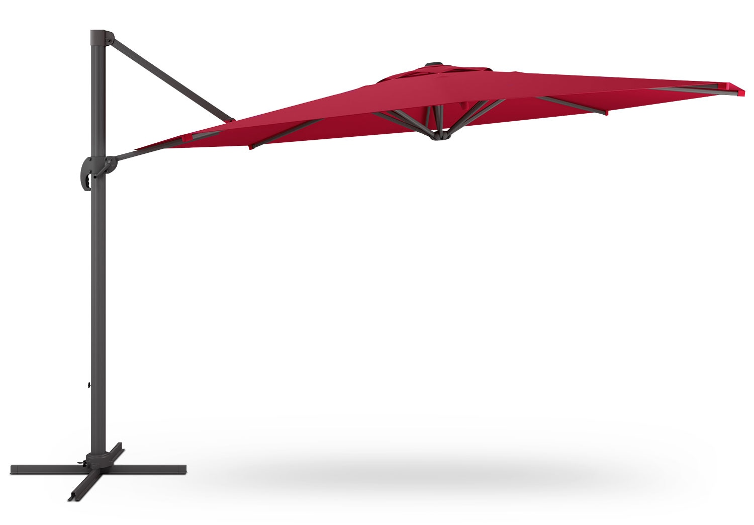 Offset Patio Umbrella – Wine Red