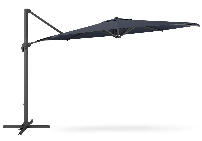 offset patio umbrella black the brick