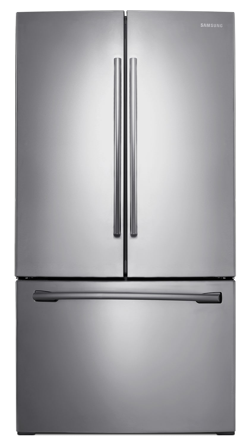 Refrigerators and Freezers - Samsung 25.7 Cu. Ft. French-Door Refrigerator – RF26HFENDSR/AA