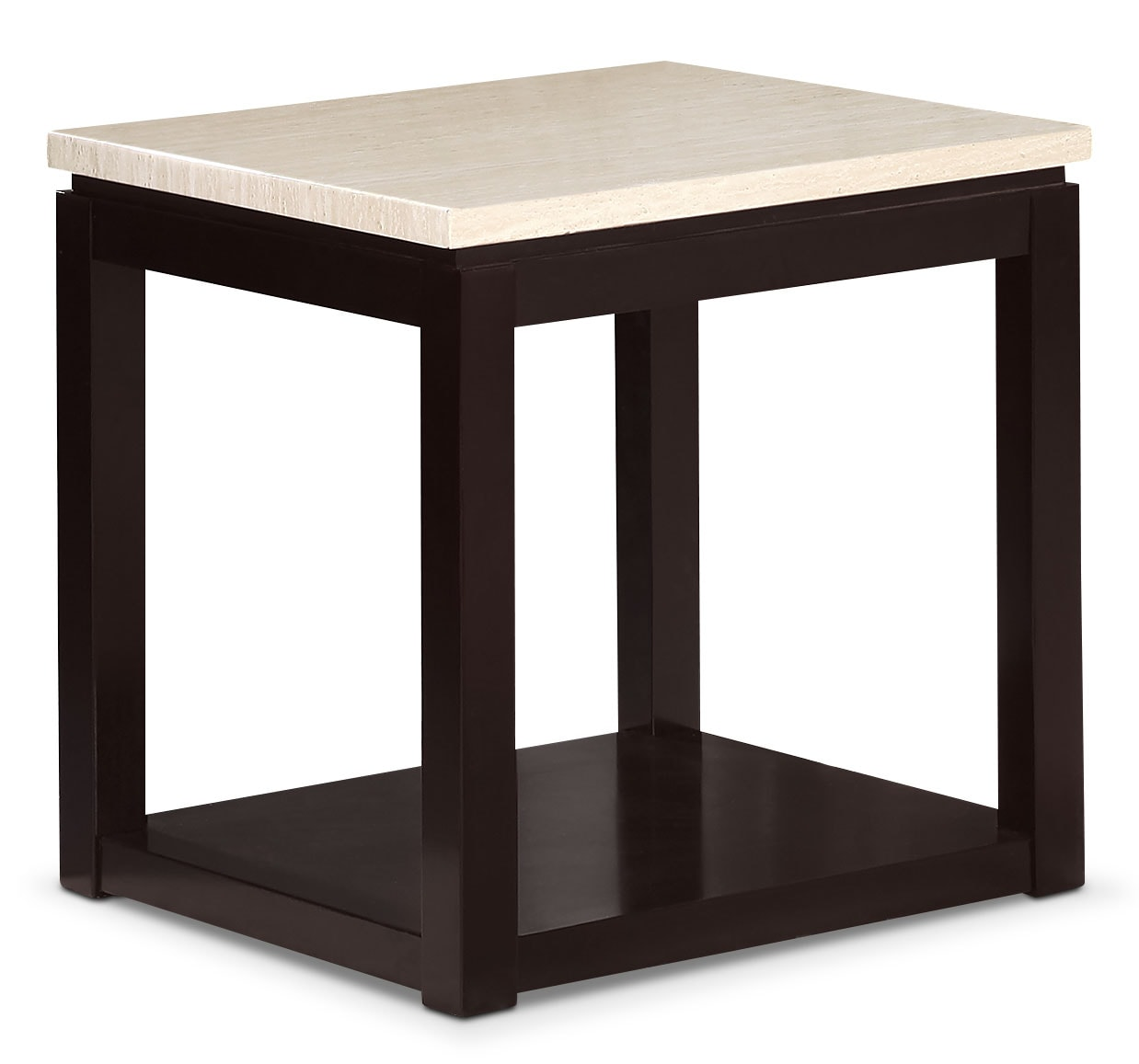Accent and Occasional Furniture - Sicily End Table – Beige