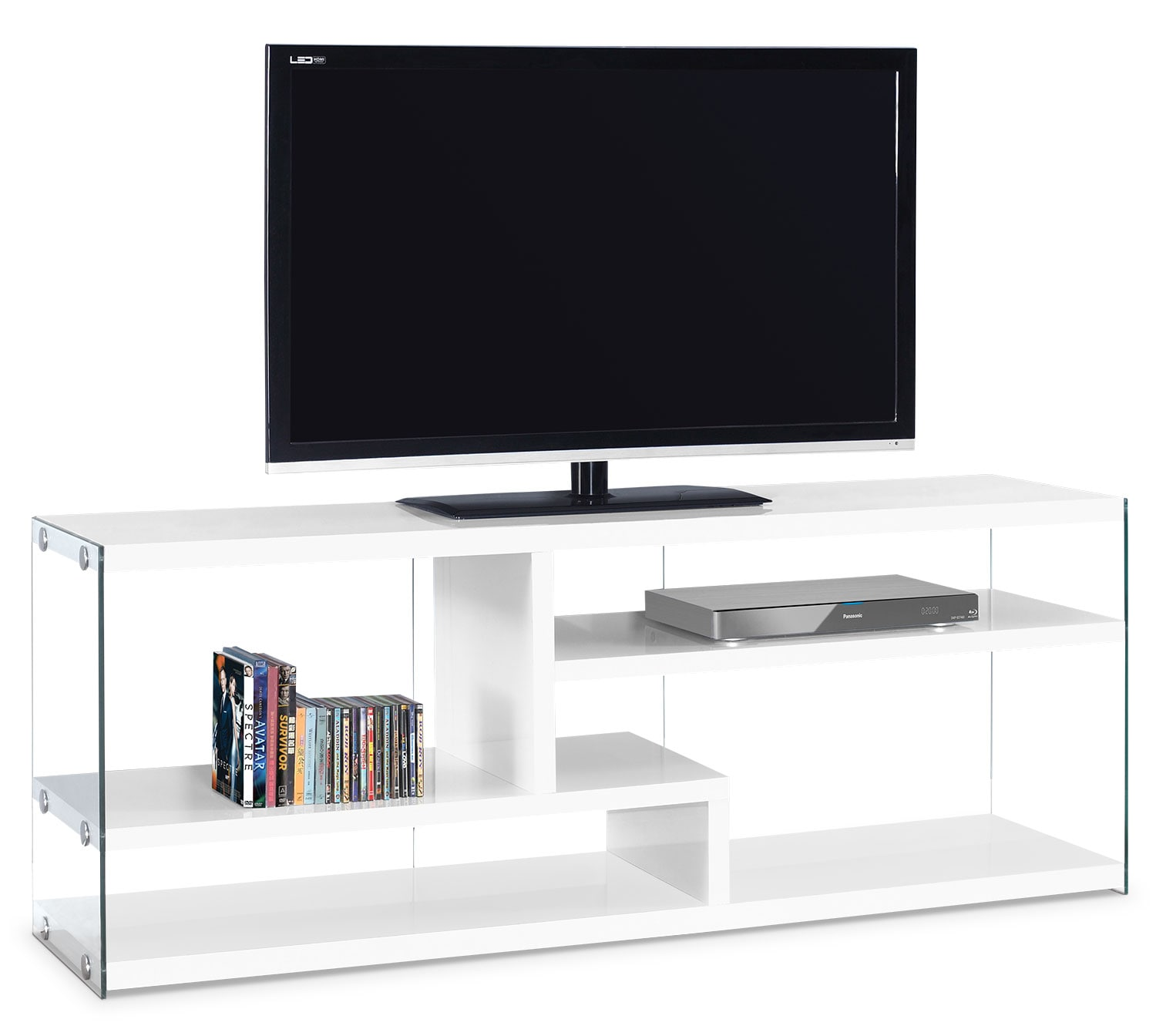 Online Only - Zara TV Stand - White