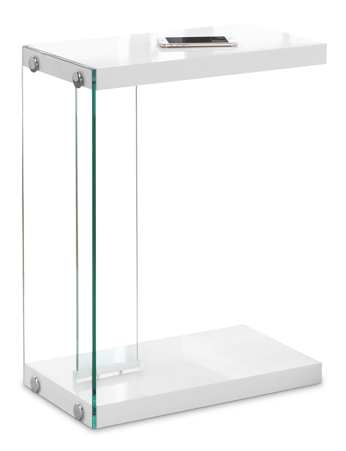 Online Only - Ivan Accent Table - White