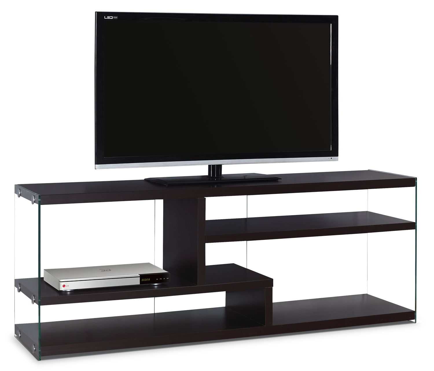 Online Only - Zara TV Stand - Cappuccino