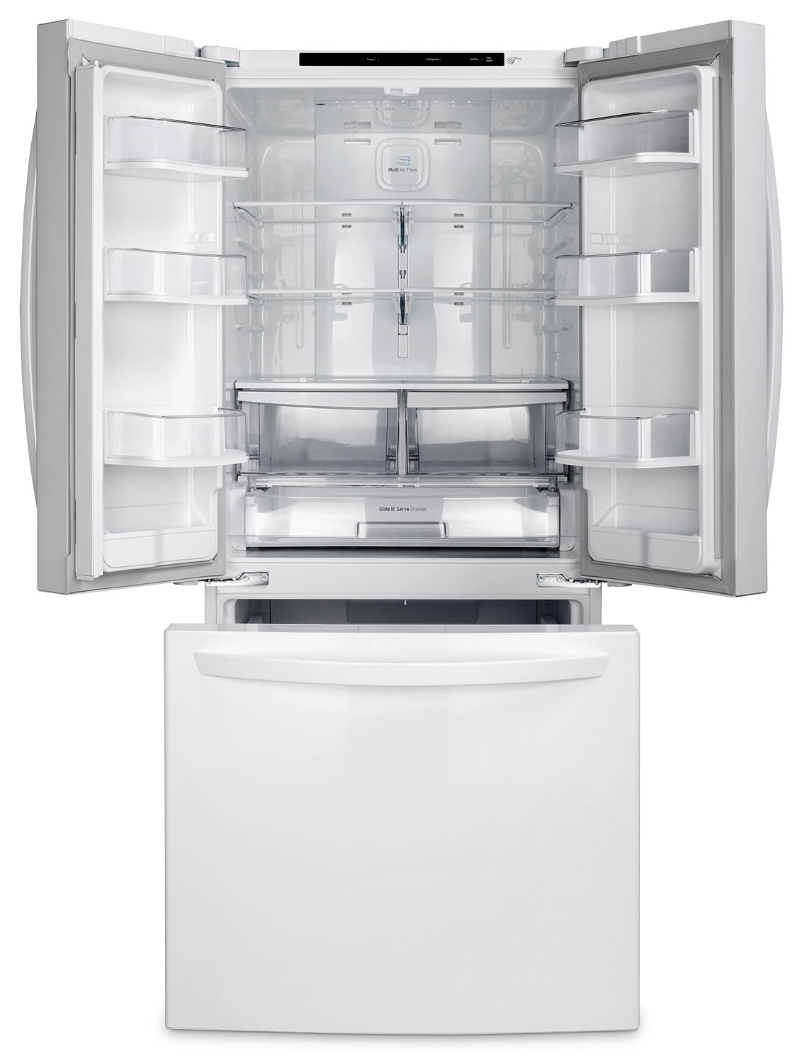 22 French Tip Nail Art Designs Ideas: LG 22 Cu. Ft. French-Door Refrigerator – LFNS22520W